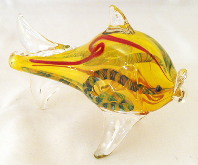 Wholesale glass animal smoking pipes gorilla glass for Glass fish pipe